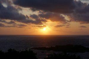 夕陽のチカラ