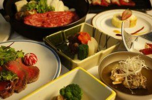 秋田由利牛のすき焼き鍋