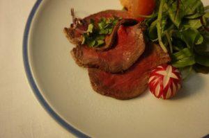 牛肉の冷製サラダ仕立て