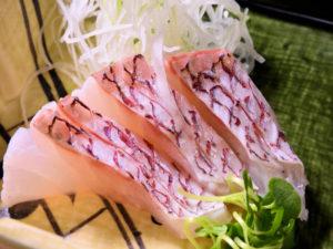 鯛の松皮造り