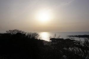 夕陽の道3