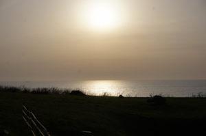 夕陽の道2