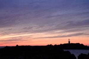 夕陽の余韻