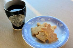 パティシエ手作りのクッキー
